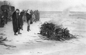 'The Burning of Shelley's