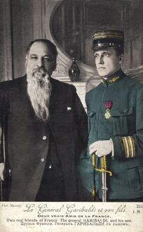 General GARIBALDI with his