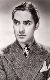 Tyrone Power - portrait